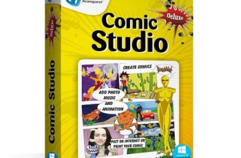 Digital Comic Studio Deluxe Crack v1.0.5.0 [Latest]