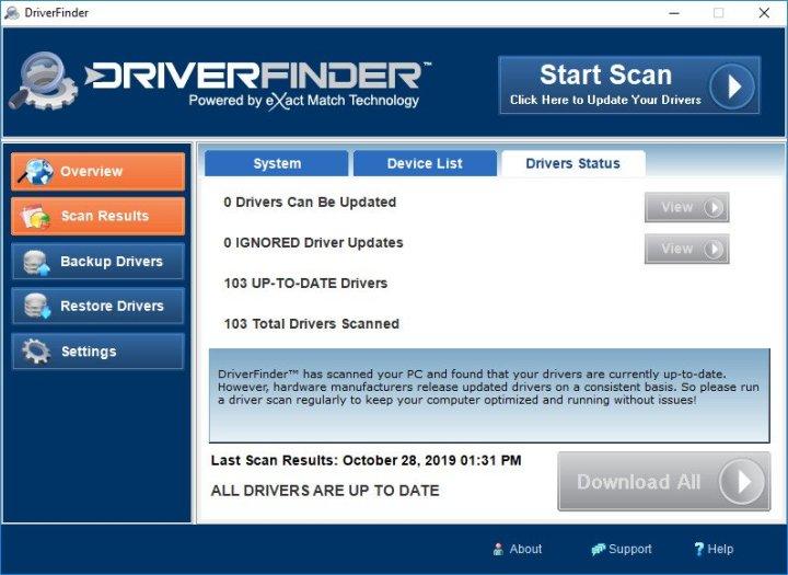 DriverFinder Full Version