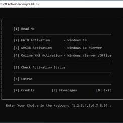 Microsoft Activation Scripts v1.3 [Latest 2020]