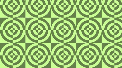 Green Quarter Circles Background Pattern Vector Graphic