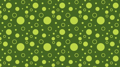 Moss Green Circle Background Pattern Vector Graphic
