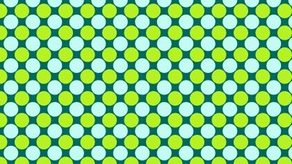Green Circle Pattern Graphic