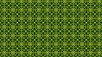 Dark Green Geometric Circle Pattern Background Vector Graphic