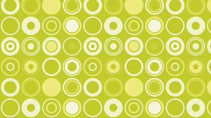 Green Circle Pattern Background Vector Art