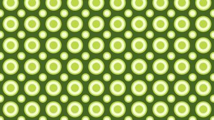 Green Geometric Circle Pattern Vector Image