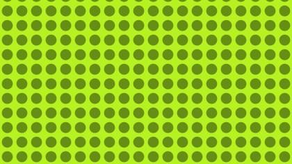 Green Seamless Geometric Circle Pattern Illustration
