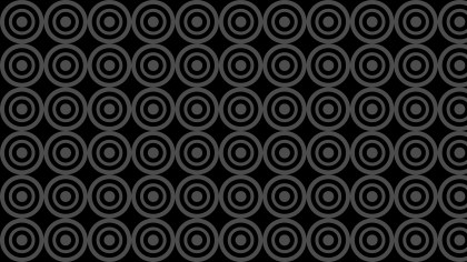 Black Circle Pattern Background