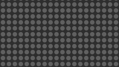 Black Geometric Circle Pattern Background