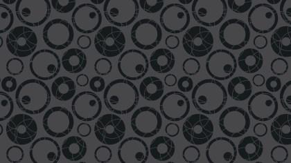Black Circle Pattern Vector