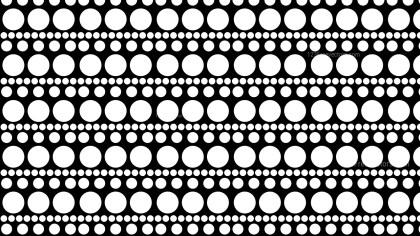 Black and White Circle Pattern Illustrator
