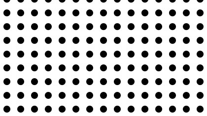 Black and White Seamless Circle Pattern Design