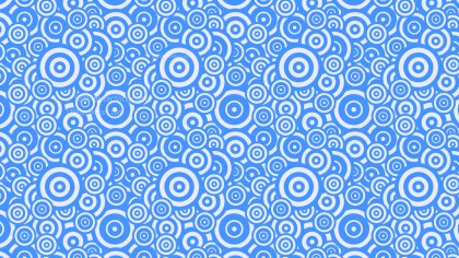 Blue Overlapping Concentric Circles Background Pattern Image