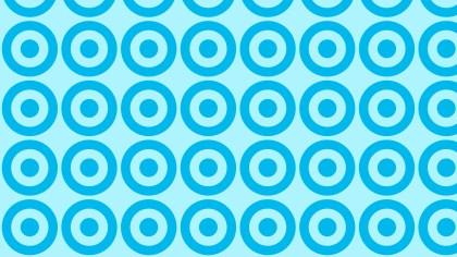 Blue Geometric Circle Pattern Background