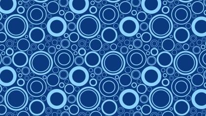 Blue Circle Pattern Background Image