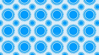 Blue Circle Pattern Illustrator
