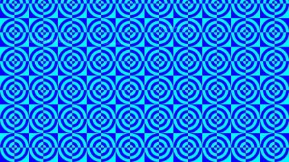 Blue Quarter Circles Background Pattern Illustrator