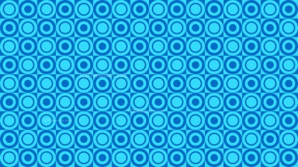 Blue Geometric Circle Pattern Illustration