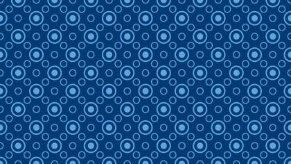 Dark Blue Circle Pattern Background