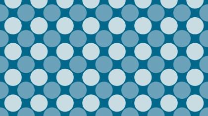 Blue Geometric Circle Pattern Vector Art