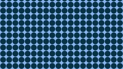 Dark Blue Geometric Circle Pattern