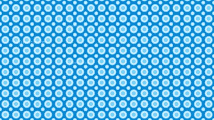 Blue Geometric Circle Background Pattern Image