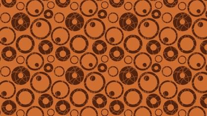 Brown Circle Pattern