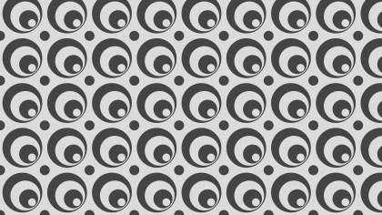 Grey Geometric Circle Pattern Illustration
