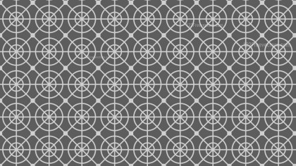 Grey Seamless Circle Background Pattern Illustrator