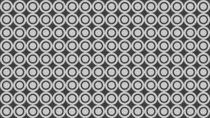 Grey Geometric Circle Pattern Background Illustrator