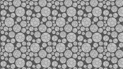 Grey Geometric Circle Pattern Vector Art