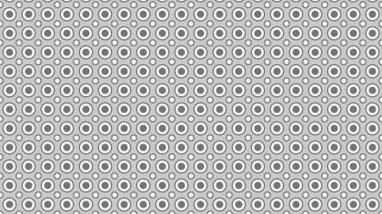 Grey Seamless Geometric Circle Pattern