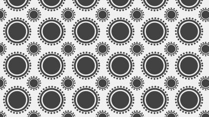 Grey Circle Pattern Vector Graphic