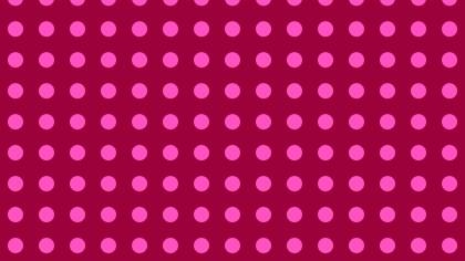 Pink Geometric Circle Pattern Vector Illustration