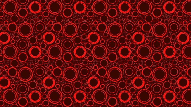 Dark Red Circle Pattern Background Vector Illustration