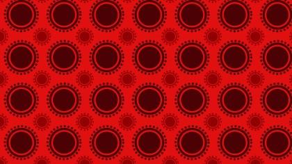 Dark Red Circle Background Pattern Illustrator