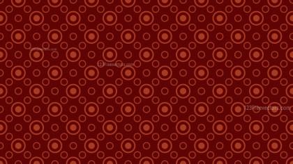 Dark Red Geometric Circle Background Pattern
