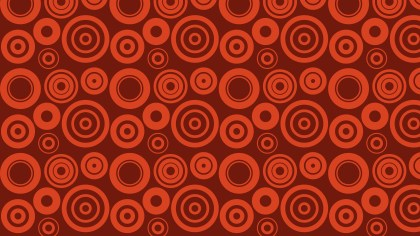 Dark Red Seamless Circle Background Pattern Design