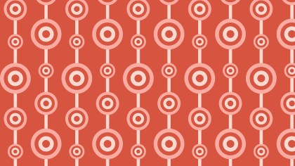 Red Circle Background Pattern Vector