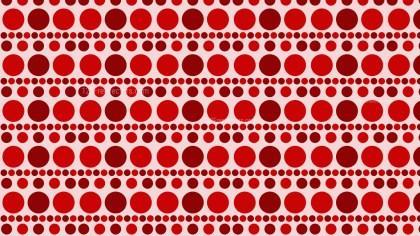 Red Seamless Geometric Circle Pattern Background Illustrator