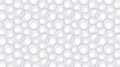 White Circle Background Pattern