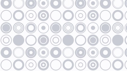 White Seamless Circle Pattern