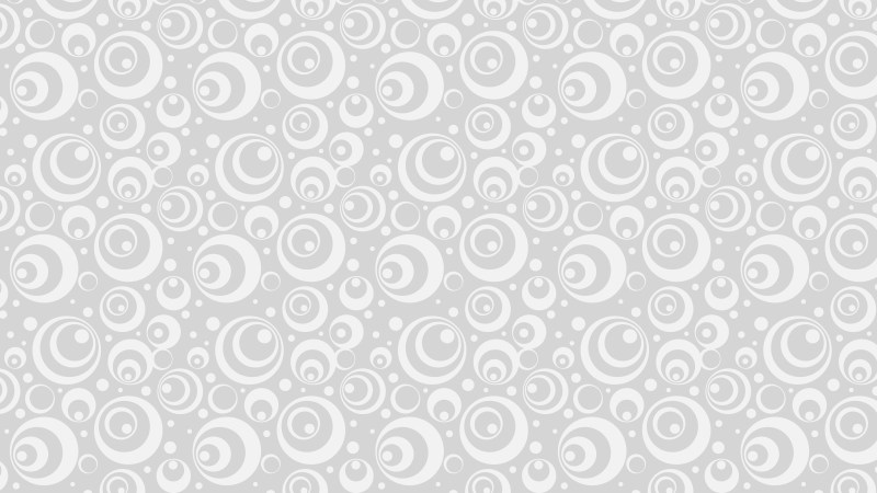 White Seamless Circle Background Pattern Illustrator