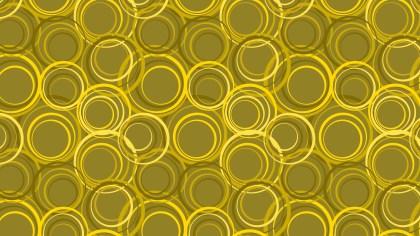 Yellow Circle Pattern Background