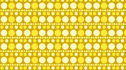 Yellow Circle Pattern Background Vector Illustration