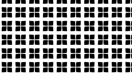 Black and White Seamless Geometric Square Pattern Background
