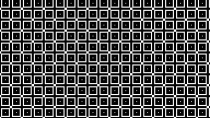 Black and White Square Pattern Background Illustration