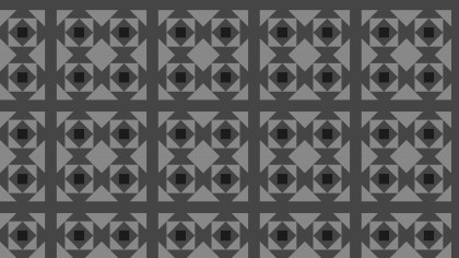 Black and Grey Square Pattern Background Vector Image