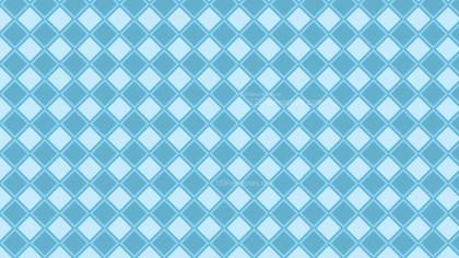 Light Blue Geometric Square Pattern