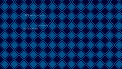 Navy Blue Geometric Square Pattern Vector Image
