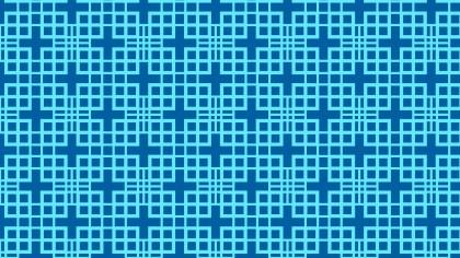Blue Seamless Geometric Square Pattern Background